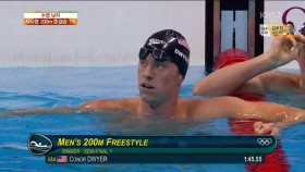 男 자유형 200m 준결승 1조 이미지