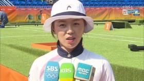 남북전 앞둔 장혜진 선수 인터뷰 이미지