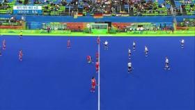여자 하키 대한민국 : 독일 경기시작 초반 찬스! 이미지