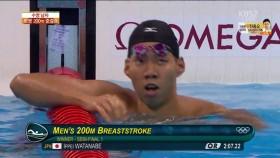 男 평영 200m 준결승 1조 이미지