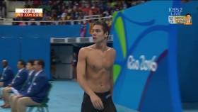 男 배영 200m 준결승 2조 이미지