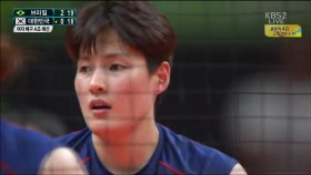 김희진 선수의 활약 이미지