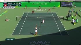 테니스 복식 러시아의 금메달 감격! 이미지