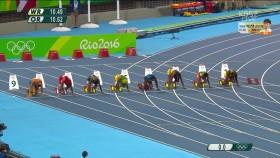 육상 여자 100m 결승 이미지