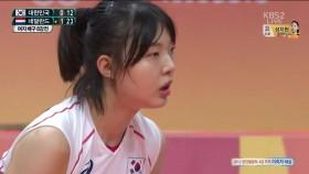 한국팀 연이어 2세트 패배 이미지