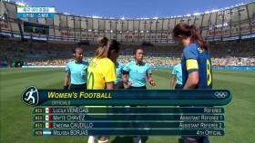 여자 축구 준결승  브라질과 스웨덴 킥오프! 이미지