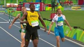 男 400m 허들 준결승 2조 이미지