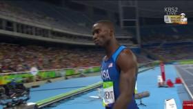 男 400m 허들 준결승 1조 이미지