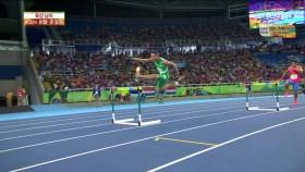 男 400m 허들 준결승 3조 이미지