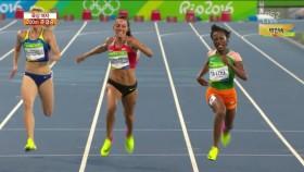 女 200m 준결승 2조 이미지