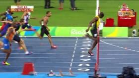 우사인 볼트 200m도 우승 이미지