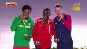 올림픽 전통, 마라톤 시상식 이미지