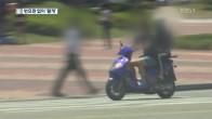 번호판 없는 불법 미등록 오토바이 '단속 사각'