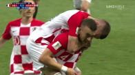 <프랑스:크로아티아> 크로아티아, 10분 만에 동점 골!
