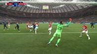 <프랑스:크로아티아> 첫 골은 크로아티아의 자책골!