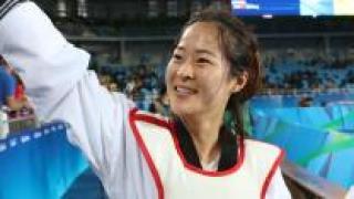 태권도 여자 67kg급 오혜리 금메달…박인비 3R도 단독 선두