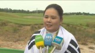 """[영상] 금메달 박인비 """"한계에 도전한다는 생각으로 출전"""""""