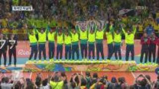개최국 브라질, 男 배구 '우승'…화려한 피날레