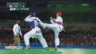 [영상] 태권도 오혜리 銀 확보, 67kg 결승 진출