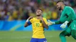 [영상] 브라질, 혈투 끝 독일 꺾고 올림픽 축구 첫 우승