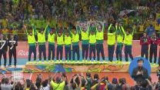 개최국 브라질, 남자 배구 우승 '화려한 피날레'