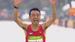 [영상] 마라톤 때문에 日국적 포기한 개그맨 '139위로 완주'
