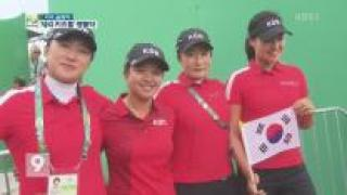 여자 골프 '최강 재입증'…감독 박세리도 울었다