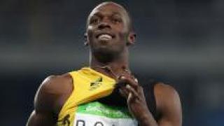 볼트, 올림픽 '3연속 3관왕' 대기록 질주