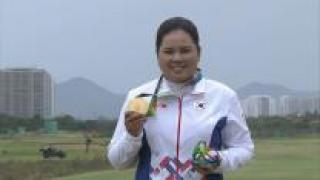 올림픽 챔피언 박인비, 세계여자골프랭킹 4위