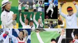 [영상] 한국, 리우올림픽 종합 8위…4개 대회 연속 톱10