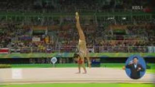 리듬체조 손연재 아쉬운 4위 올림픽 메달 실패