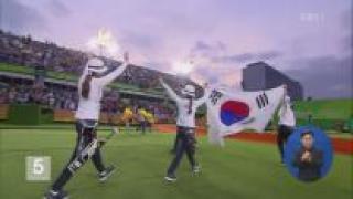 한국, 금 9개로 종합 8위…4회 연속 '톱10'