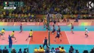 [영상] '남자 배구' 브라질, 이탈리아 꺾고 금메달