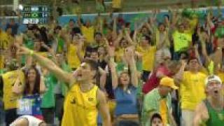'남미 한일전' 브라질vs아르헨, 뜨거운 응원 경쟁