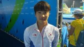 [영상] 다이빙 우하람, 한국 올림픽 사상 첫 결승 진출