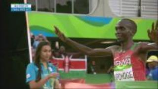 [영상] 마라톤 전향 3년된 케냐 킵초게, 올림픽 금메달