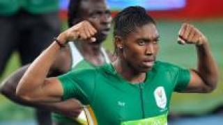 [영상] '성별 논란' 세메냐, 800m 우승…1분55초28