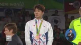 차동민 태권도 80kg초과급서 값진 동메달