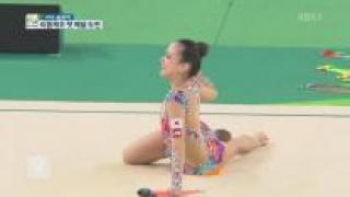 손연재 5위로 결선 진출…'첫 메달 도전'