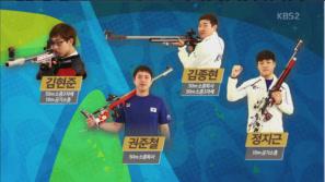 """""""금빛 총성 사격"""" 리우 올림픽 출전선수 소개 이미지"""