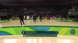 농구 남자 결승전, 3,4위전 이미지