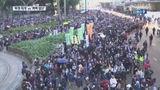 '홍콩 시위 반 년' 대규모 집회…베이징 다녀온 '강경파' 경찰총수
