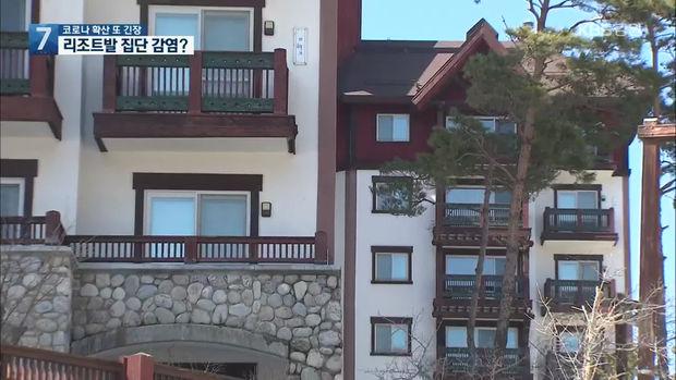 용평리조트발 감염 지속…투숙객 50여 명 긴급 검사
